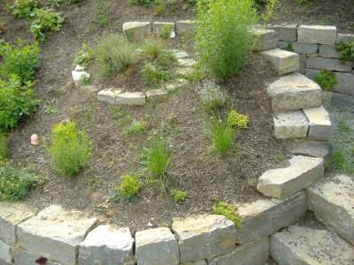 Treppen mauern und wege aus naturstein w rzburg for Gartengestaltung 400 m2