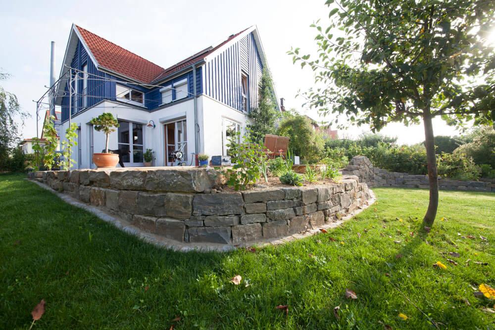 Trockensteinmauer w rzburg naturnahe gartengestaltung for Gartengestaltung natursteinmauer