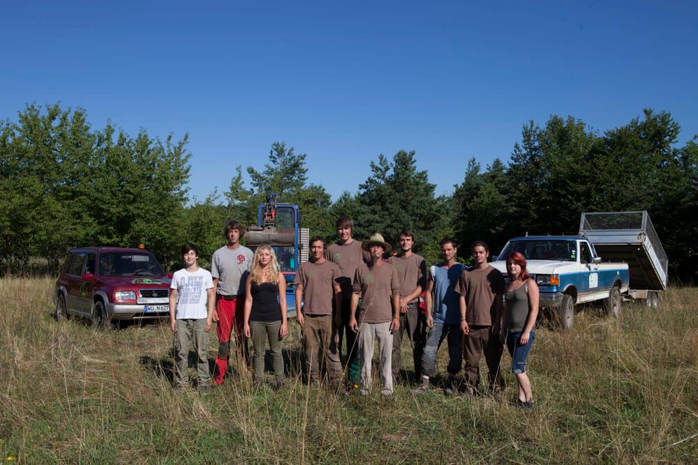 Team Ralf Kretzer-Felske Theilheim Naturnahe Gartengestaltung